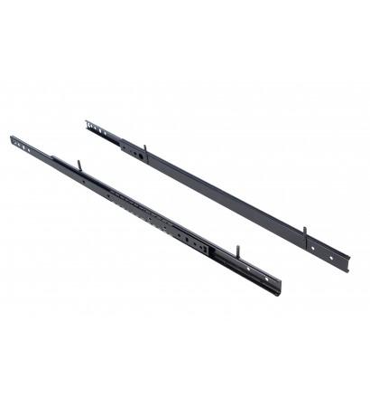 Lot de 2 rails coulissants pour clayette