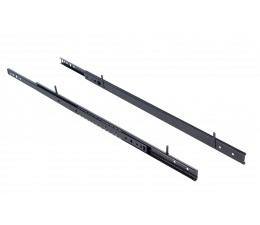 Lot de 2 rails coulissants pour clayette