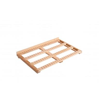 Clayette de présentation en bois
