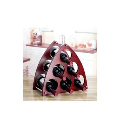 Rangement casier 6 bouteilles design