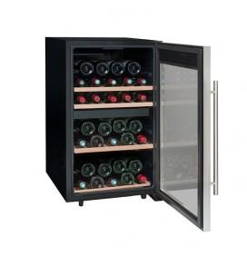 Cave à vin de mise à température 50 bouteilles - double zone