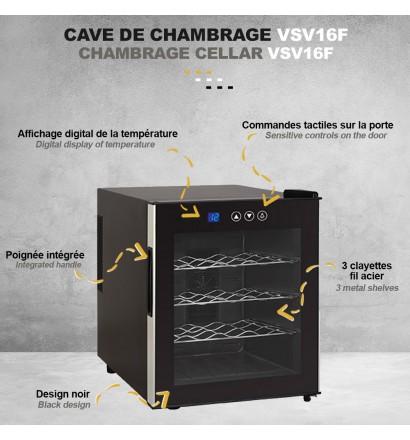Cave de chambrage 16 bouteilles (46L)