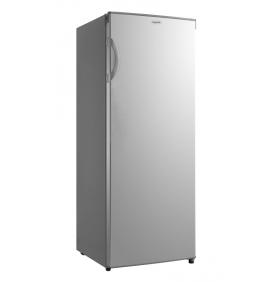 Réfrigérateur armoire 230L, Classe A++,coloris inox, 3 clayettes verre