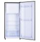 Réfrigérateur 166L net. Classe A++ compartiment congélateur, 2 clayettes verre. Coloris inox