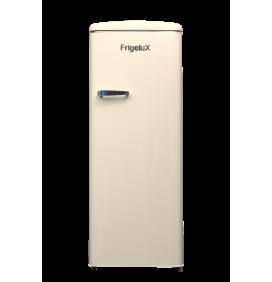 Réfrigérateur armoire, 214L, classe A++, gamme rétro, 3 clayettes verre. Coloris crème
