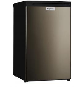 Réfrigérateur table top 118L, Classe A++, couleur noir et porte inox, 1 clayette verre