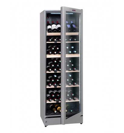 Cave à vin multi-zones 180 bouteilles