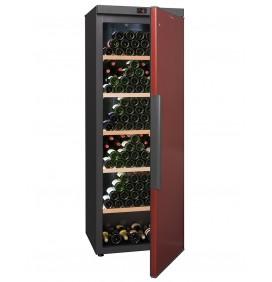 Cave de vieillissement 329 bouteilles, 5 clayettes bois fixes. Fabrication Européenne. Classe énergétique F.