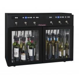 Distributeur de vin au verre, 6 bouteilles, conservation sous azote