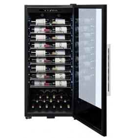 Cave à vin 1 porte vitrée 107 bouteilles