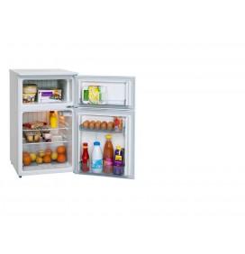 Réfrigérateur 90 litres double porte, Classe A+, 1 clayette fil
